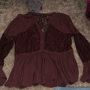 American Eagle Lacey Blouse